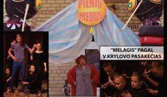 Skapiškio scenoje siautė jaunimas