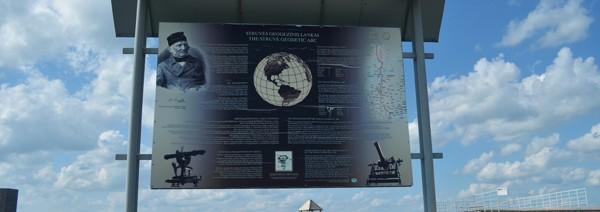 Apvogė Struvės geodezinio lanko Gireišių punktą