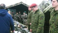 Rokiškyje – karinės technikos demonstracija