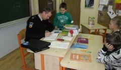 Policija ir moksleiviai aptarė nemažai reikalų