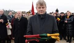 """Gediminas Matiekus: """"Esame verti saugoti valstybės vėliavą"""""""