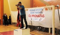Atvirąjį Lietuvos jėgos trikovės čempionatą laimėjo rokiškėnai