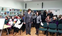 Seimo pirmininkė – Rokiškio bibliotekos globėja