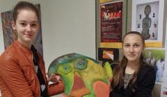 Jaunieji dailininkai rengiasi plenerui