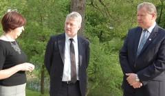 Čekijos ambasadorius aplankė Anykščius