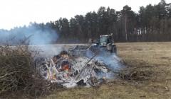 Nugenėtas medžių šakas deginti draudžiama