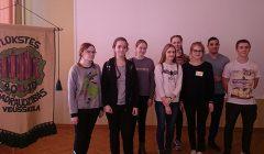 Obelių gimnazijos laikraščio žurnalistai reportažų parvežė iš Latvijos