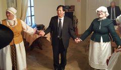 Japonijos ambasadorius Toyoei Shigeeda neaplenkė ir Kupiškio