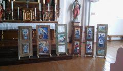 Obelių bažnyčioje – sakralaus meno langinių paroda