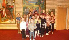 Alizavos mokyklos mokiniai buvo pakviesti į Vaikų knygos šventę