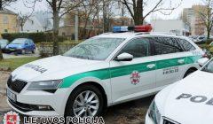 Į gatves išriedės nauji policijos automobiliai