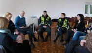 Mokymuose dalyvavo psichologai dr. Paulius Skruibis ir Valija Šap