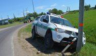 Tuoj po autoįvykio nebuvo aišku, kodėl policininkas rėžėsi į stulpą