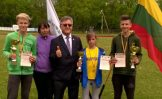 """Trys Kupiškio lengvaatlečiai – """"Aukštaitijos taurė-2017"""" čempionai"""