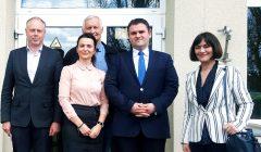 Rumunijos ambasadorius Lietuvoje Danas Adrianas Balanescu aplankė Kupiškį