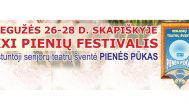 """Skapiškio """"Pienių"""" festivalio atidarymas skelbiamas ne piliakalnyje"""