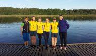 Kupiškio merginų porinė keturvietė iškovojo pirmą vietą