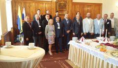 Kupiškio rajono meras D. Bardauskas svečiavosi Kežmaroke