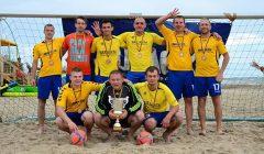 Dėl paplūdimio futbolo pergalės kupiškėnai grįžo net iš Norvegijos