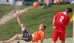 Prie Kupiškio marių – šalies paplūdimio futbolo čempionato kovos