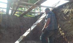 Obeliuose muziejininkai stato bunkerį: gyvenimas jame bus stebimas vaizdo kameromis
