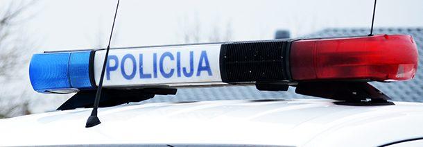 Policijos suvestinė: apvogta Kupiškio parduotuvė