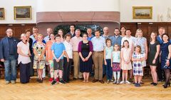 Rokiškyje lankėsi von Tiesenhausenų giminės palikuonys