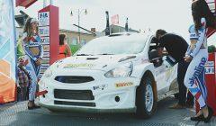 """""""Samsonas Rally Rokiškis"""" laimėjo latvis Janis Vorobjovas."""