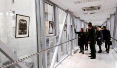 Kupiškietės dailininkės Virginijos Jurevičienės karpinių paroda – Lietuvos Seime