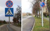 Kupiškio Krantinės gatvėje – du nauji draudžiamieji kelio ženklai
