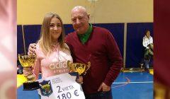 Kupiškietė Gabija Vogulytė LIF žiemos čempionato varžybose pelnė sidabrą