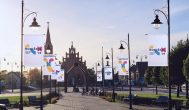 """Ryškėja """"Rokiškio – Lietuvos kultūros sostinės 2019″ logotipas"""