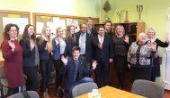 Izraelio ambasadorius su Kupiškio ir Anykščių moksleiviais aptarė kelionės į Izraelį detales
