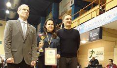 Kupiškietė Austėja Rita Žiūkaitė – Lietuvos jaunių imtynių čempionato nugalėtoja