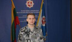Jaunas pareigūnas Valentinas Pupšys dirbs Rokiškio policijos komisariate