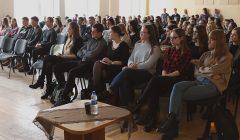 Šalies universitetai ir kolegijos savo atstovus siuntė į Rokiškį
