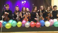 Rokiškėnai – Biržų Vlado Jakubėno muzikos mokyklos šventėje