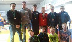 Septyni Kupiškio imtynininkai pasipuošė bronzos medaliais