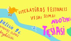 """Festivalio vaikams organizatoriai: """"Skaitymas, visų pirma, yra džiaugsmas"""""""