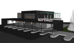 Kupiškio autobusų stotis bus ir didesnė, ir aukštesnė