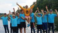 Kupiškio irkluotojai Jaunučių žaidynėse pasipuošė sidabro medaliais