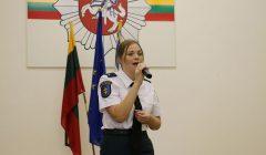 Kupiškio pareigūnė Ineta Baronaitė Valstybės dienos proga kolegoms padovanojo koncertą