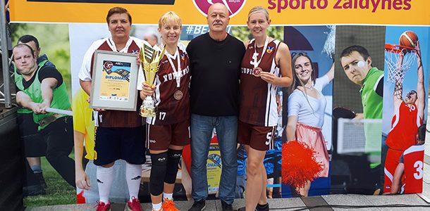 Pirmą kartą Kupiškio moterų krepšinio istorijoje – bronzos medaliai