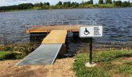 Kupiškėnų naujovė – tiltas neįgaliems žvejams
