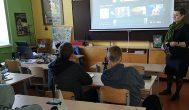 Alizaviečių integruotoje biologijos ir literatūros pamokoje – apie grybus