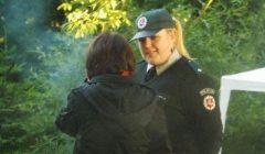 Pasvalio rajonas kupiškėnams dėkingas už puikią policininkę