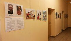 Kavarsko miesto bibliotekoje – unikali amerikiečio karikatūristo paroda