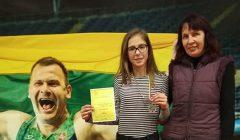 Olimpinių vilčių pirmenybėse skapiškietė Gerda Kirkytė iškovojo sidabrą