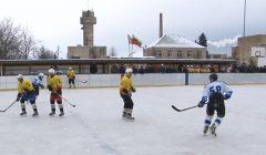 Vėluoja Rokiškio ledo aikštelės stoginės statyba