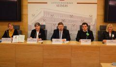 Skapiškėnė skaitė pranešimą Seime, dr. A. Vasiliauskienės knygos sutiktuvėse